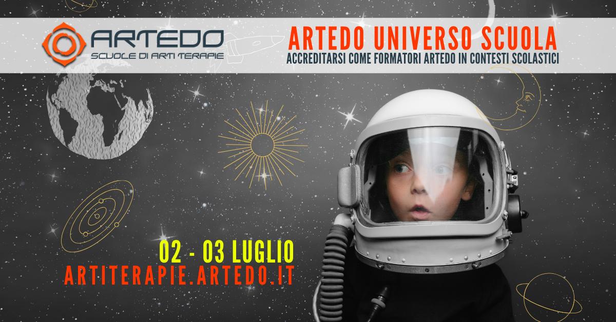 Artedo Universo Scuola 3a edizione - Artedo Arti Terapie